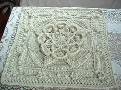 Project Gallery for The Amanzi Block/Throw pattern by Jen Tyler