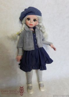 Совместная работа над образами.(Мой и мамы) / Авторская шарнирная кукла / Бэйбики. Куклы фото. Одежда для кукол