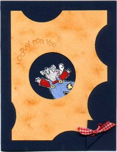 Cheesy Hooray for you by Nate's Ma - Cards and Paper Crafts at Splitcoaststampers