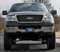 "Installed - 6"" Rough Country Suspension Lift Kit on an 05 Ford F150"