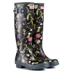 Floral | Hunter Wellies