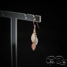 Moonstone Cascade Earrings