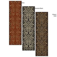 @Overstock - Protect the floors in high traffic areas of your home with this machine-made olefin rug. The rug is made in Italy and is available in a variety of colors, so you can choose one that complements your decor. The fibers are heat-set to give it a soft feel.http://www.overstock.com/Home-Garden/Amalfi-Paradise-Multicolor-Rug-22-x-77/4469506/product.html?CID=214117 $47.99