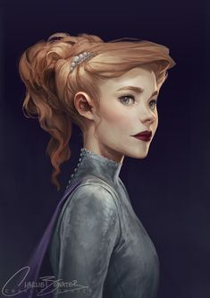 XXV by Charlie-Bowater on DeviantArt - Character inspiration Character Concept, Character Art, Concept Art, Fantasy Characters, Female Characters, Charlie Bowater, Fan Art, Character Portraits, Character Design Inspiration