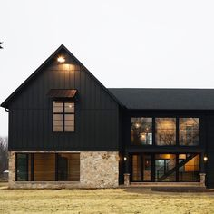 "Nakamoto Forestry on Instagram: ""Gendai in Ebony on a striking modern farmhouse design. Wonderful custom build by @mhousedevelopment in Naperville, IL."""