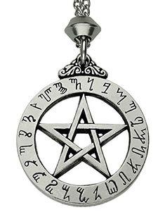 Celtic Knot Pentacle Pentagram Pewter Pendant ~ For Protection ~ 18+4 inch extender Chain