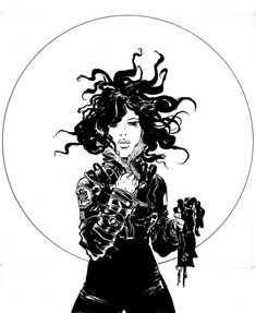 Beautiful ink work by Paul Pope