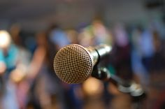 Standup comedians are a great source of advice on public speaking.