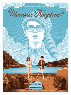 "Tracie Ching - ""Moonrise Kingdom"" Limited Edition Screen Print at Spoke Art. Reminds me of @Jette Via"
