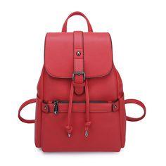 Women Girl School bags Backpacks For Teenage Girls Fashion Shoulder Bag Rucksack Leather Travel bag