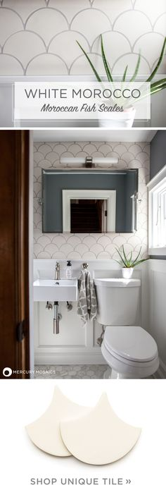 Thinking about tile for your home renovation project?White is great for making small spaces brighter and seem more open! Our 301 Marshmallow glaze is interesting in it's matte finish, giving off a fresh, dreamy, and cloud-like feel. Learn more on our website!