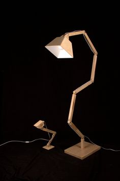 Wooden Floor Lamp DL022 BlackGizmo by BlackGizmo made by BlackGizmo Design. 299.00 at BOUF
