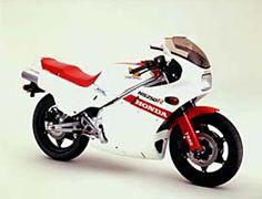 HONDA NS250R (1984)  おもしろい2ストバイクだった