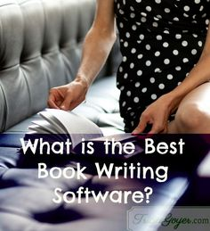 What is the Best Book Writing Software? -- I thought this was going to give something else/more, but it's still a leading start (it just tells what program she uses, how she sets up her documents)