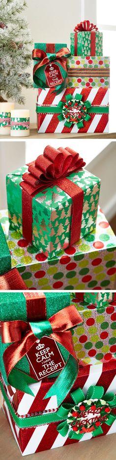 So perfectly wrapped, it'll make Santa jealous.