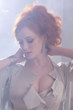Christina Hendricks for Vivienne Westwood - photographed by Greg Williams