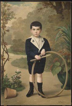 """""""Portrait de Paul Carbou enfant"""" de Paul-Narcisse Salières. Carcassonne, musée des Beaux-Arts - Photo (C) RMN-Grand Palais / Benoît Touchard"""