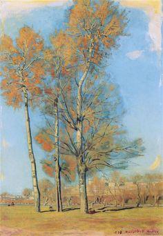 Ferdinand Hodler -  Tree on the Lake of Brienz near Bödeli, 1906