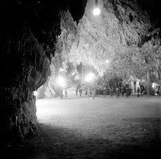 Titel Adelsberger Grotten Beschreibung 'Tanzsaal'. Orte Postojna