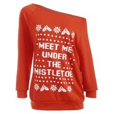 SHARE & Get it FREE | Meet Me Under The Mistletoe SweatshirtFor Fashion Lovers only:80,000+ Items • FREE SHIPPING Join Twinkledeals: Get YOUR $50 NOW!