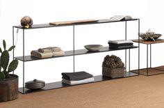Slim Irony Bookcase - design by Maurizio Peregalli 2015