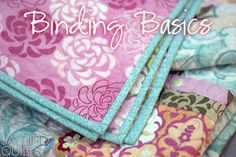 Binding Tutorial Posts        Perfect Binding           Basics Post #1            Binding Flange       Basics Post #2  - Bias ...