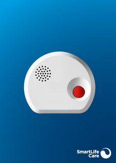 Der Wassersensor alarmiert Sie bei auslaufendem Wasser, etwa in der Küche oder im Bad, und löst automatisch einen Anruf aus. Cas, Mini, Black Bracelets, Light Blue, Stainless Steel, Black Braces, Water
