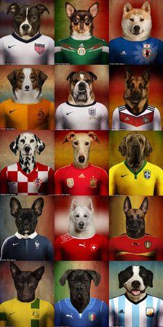 Twitter / DreaAlGhul: Word Cup Brazil 2014 teams ...