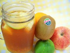 DIY fruit ice tea