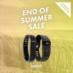 Check out our end of summer sale! Grab the waterproof refurbished Fitbit Charge…