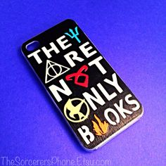 HANDMADE MULTI Fandom Case. Percy Jackson, Harry Potter, Divergent, Mortal Instruments MANY Sizes Available iPhone 4 / 4s Phone cover 5c 5s ($24) found on Polyvore