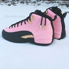 >>>Cheap Sale OFF! >>>Visit>> There are 9 tips to buy pink sneakers pink shoes air jordan 12 jordans jordans shoes gold. Jordan Shoes Girls, Air Jordan Shoes, Girls Shoes, Jordan 12s, Jordan Swag, Shoes Men, Shoes Jordans, Retro Jordans, Jordan Nike
