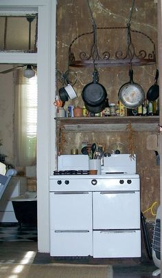 Old Kitchen in New Orleans