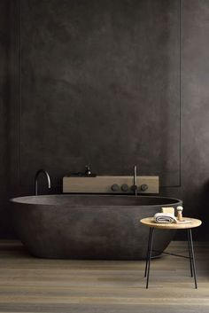 If you have a small bathroom in your home, don't be confuse to change to make it look larger. Not only small bathroom, but also the largest bathrooms have their problems and design flaws. Luxury Bathtub, Bathroom Design Luxury, Bath Design, Villa Design, House Design, Dark Bathrooms, Luxury Bathrooms, Dream Bathrooms, Modern Bathrooms