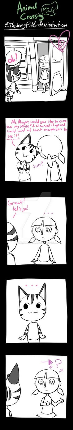 Animal Crossing New Leaf - comic 31 by TheJennyPill