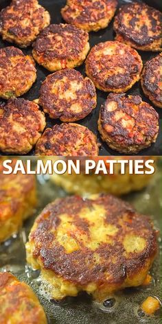 salmon recipes This Easy Salmon Patty recipe is definitely a keeper. Made with canned salmon and simple ingredients, youll want to make it again and again. Cooktoria for more deliciousness! Salmon Dishes, Fish Dishes, Seafood Dishes, Seafood Appetizers, Seafood Pasta, Easy Dinner Recipes, Easy Meals, Simple Fish Recipes, Meal Ideas For Dinner