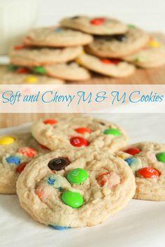 m&m cookie 3