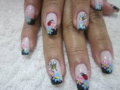 Resultado de imagen de diseño de uñas naturales decoradas juveniles