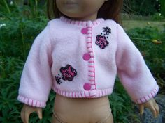 American Girl Doll Clothes  Flowers in by KingsLittleBlessings, $9.50