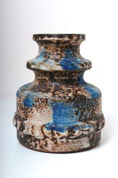 Vintage Carstens Westdeutsche Keramik Fat Lava von afterglowretro