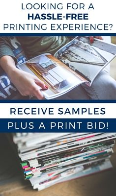In need of a professional printer? From magazines to catalogs to postcards, we specialize in high-quality publication printing along with a hassle-free experience!