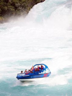 See Huka Falls, Taupo, in style on a jet boat! #travel #travelinsurance #iloveinsurance See the world. Do your travel insurance comparison online, save time, worry, and loads of money. http://www.comparetravelinsurance.com.au/