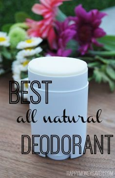 This all natural deodorant is the best! A great alternative to the traditional toxic deodorants on the market. - happymoneysaver.com