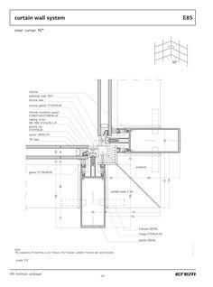 Technical Architecture, Architecture Sketchbook, Roof Architecture, Architecture Visualization, Architecture Student, Architecture Details, Architecture Diagrams, Architecture Portfolio, Curtain Wall Detail