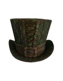 Chapeau gothique haut de forme dracula