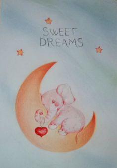 Baby Art, Sweet Dreams, Art Kids, Infant Art, Baby Artwork