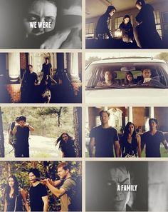 Damon Alaric Elena - we were a family