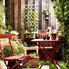 Ensemble Malaro d'IKEA - IKEA catalogue : nouveautés outdoor - Journal des Femmes Décoration