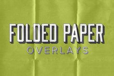 Check out 24 Folded Paper Overlays by SparkleStock on Creative Market