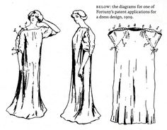 Fortuny dress patent.